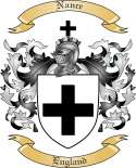 Nance Family Crest from England