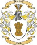 Nandan Family Coat of Arms from India