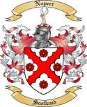 Napeer Family Crest from Scotland