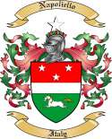 Napoliello Family Coat of Arms from Italy