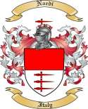 Nardi Family Coat of Arms from Italy2