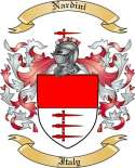Nardini Family Coat of Arms from Italy2