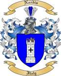 Nardis Family Crest from Italy
