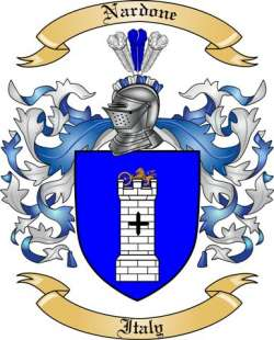 Nardone Family Coat of Arms from Italy