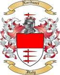 Narducci Family Coat of Arms from Italy