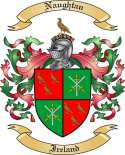 Naughtan Family Crest from Ireland