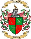 Naughten Family Crest from Ireland
