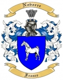 Navarre Family Coat of Arms from France2
