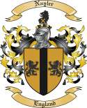 Nayler Family Crest from England