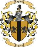 Naylour Family Coat of Arms from England