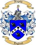 Nayshe Family Crest from England