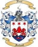 Neal Family Crest from Ireland2