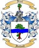 Neal Family Crest from Ireland