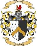 Neaves Family Coat of Arms from England