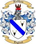 Needham Family Crest from England