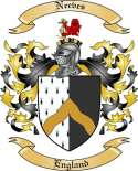 Neeves Family Coat of Arms from England