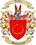 Neffer Family Crest from Switzerland