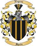 Negron Family Coat of Arms from Spain