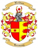 Neibur Family Crest from Germany