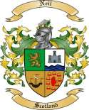 Neil Family Crest from Scotland