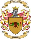 Neisswender Family Coat of Arms from Germany