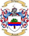 Neligan Family Coat of Arms from Ireland