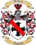 Nellson Family Crest from England2