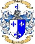 Nelson Family Coat of Arms from Scandinavia