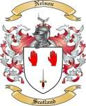 Nelson Family Coat of Arms from Scotland