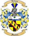Nelson Family Coat of Arms from Sweden2