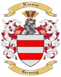 Nessen Family Coat of Arms from Germany