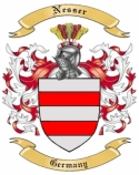 Nesser Family Coat of Arms from Germany
