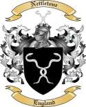 Nettletone Family Coat of Arms from England