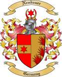 Neubauer Family Crest from Germany