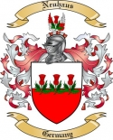 Neuhaus Family Crest from Germany