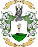 Neuman Family Crest from Germany