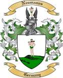 Neumanns Family Crest from Germany