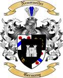 Neumueller Family Crest from Germany
