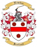 Newbee Family Crest from Scotland