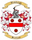 Newbeigh Family Coat of Arms from Scotland