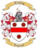 Newbey Family Coat of Arms from England