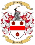 Newbey Family Coat of Arms from Scotland