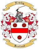 Newby Family Coat of Arms from Scotland