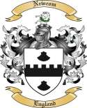 Newcom Family Coat of Arms from England