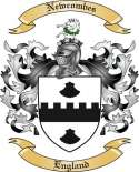 Newcombes Family Crest from England