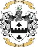 Newcome Family Coat of Arms from England