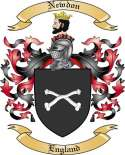 Newdon Family Crest from England