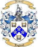 Newell Family Coat of Arms from England