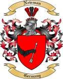 Newman Family Crest from Germany2