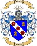 Newman Family Crest from Germany3